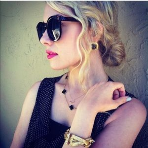 ✖️Courtney Lee Collection gold spike bracelet